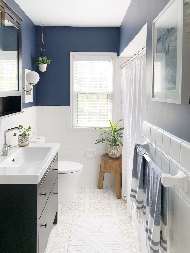 1940 S Bathroom Refresh With Rust Oleum Style Dwell