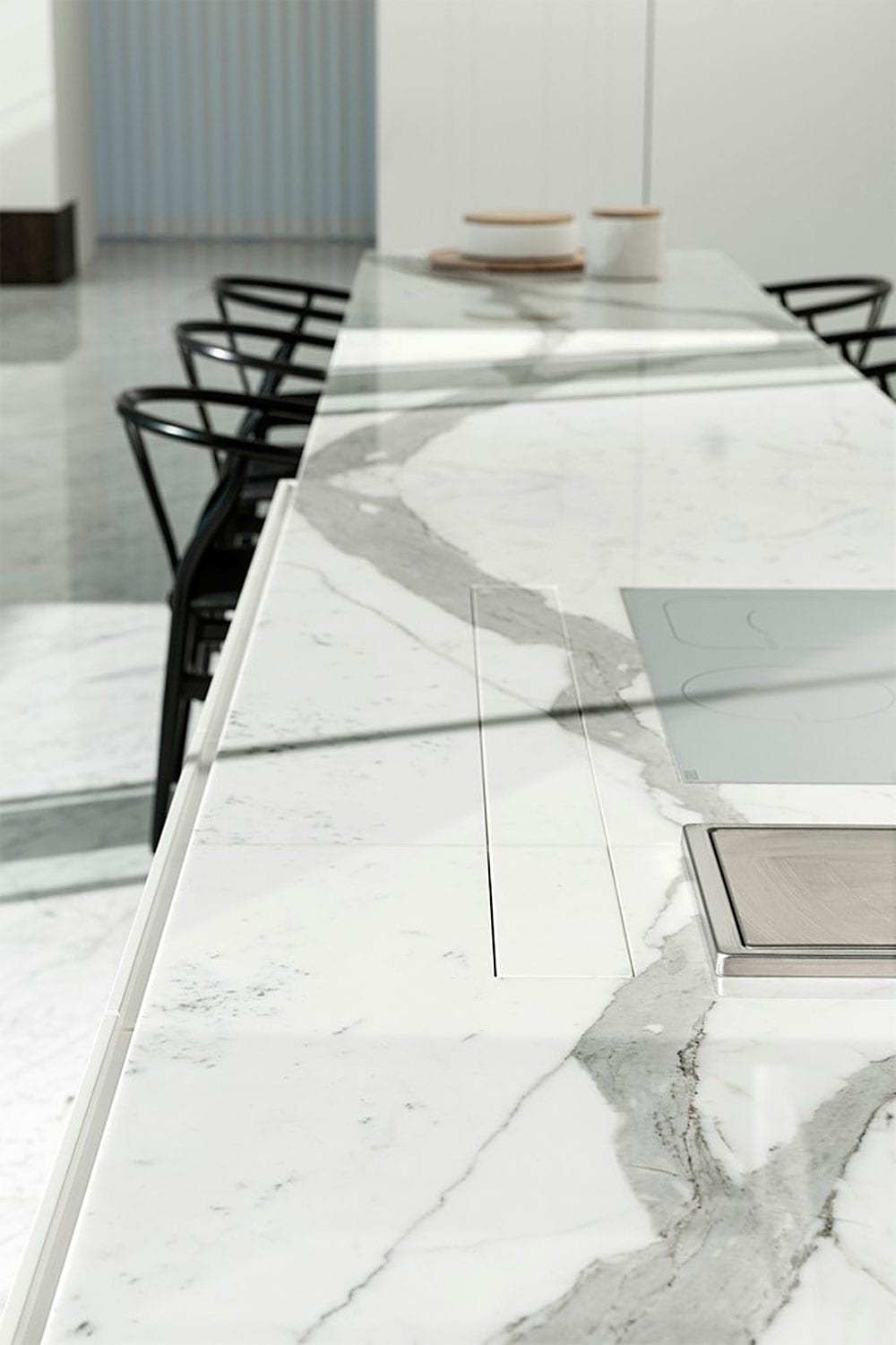 A Marble House By Il Granito StyleampMinimalism