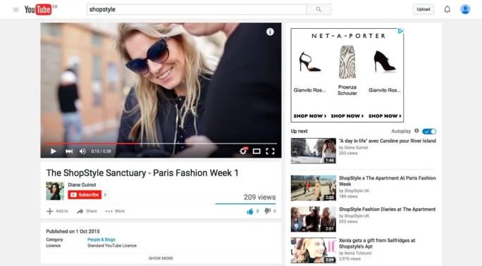 Style&Minimalism | Press | 2015 | October | The ShopStyle Sanctuary | YouTube