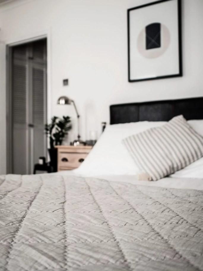 My Luxury Bedding from The White Company, Wood/Grey & Habitat