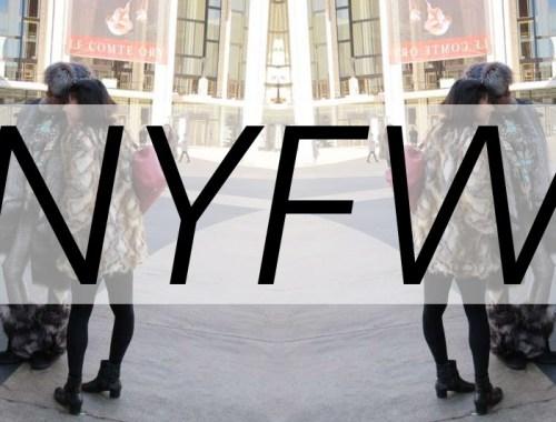 NYFW, New York Fashion Week