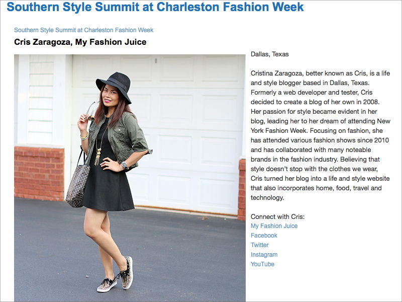 Belk Southern Style Summit at Charleston Fashion Week