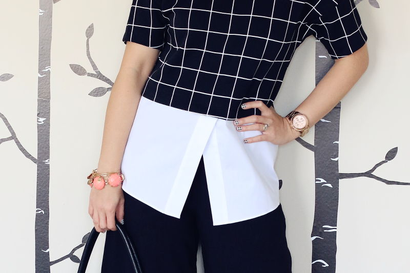 culottes, fashion, style, trends, shorts, pants, spring 2015, black and white