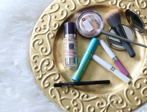 CoverGirl Beauty Products: Intensify Me liquid liner and Super Sizer mascara