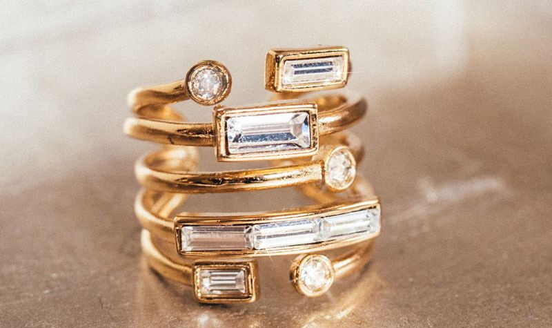 jewelry, Alexis Bittar, ring, gold