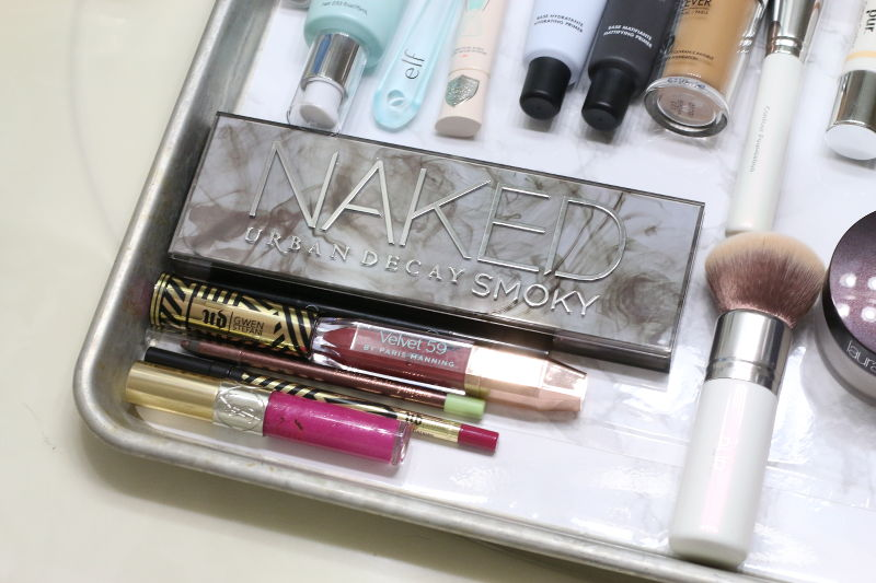 DIY beauty makeup pan, makeup products