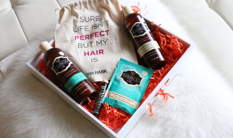 Hask Bamboo Oil Hair Care