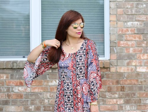 Minkpink dress, Aldo sunglasses