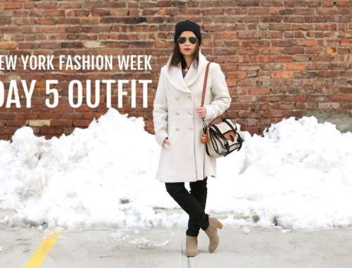 NYFW FW14 Day 5 OOTD, New York Fashion Week, outfit, fashion