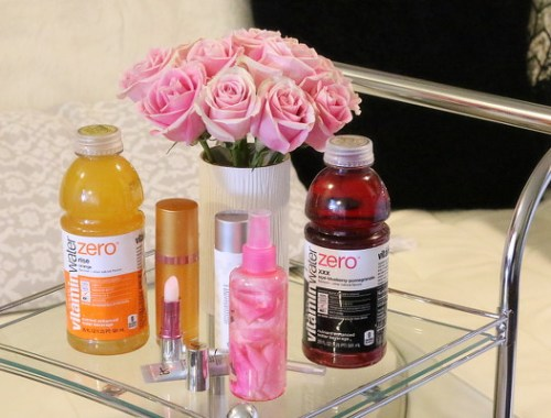 How to Keep Skin Hydrated, Beauty Look with vitaminwater