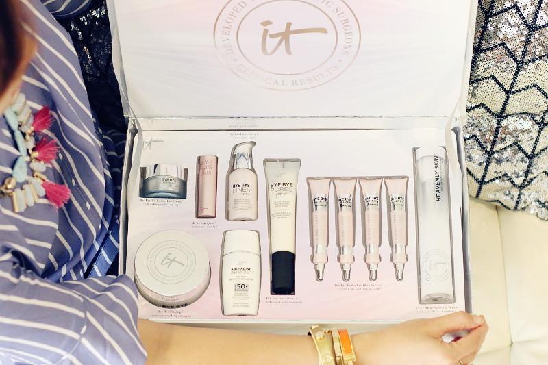IT Cosmetics skin care, bye bye under eye