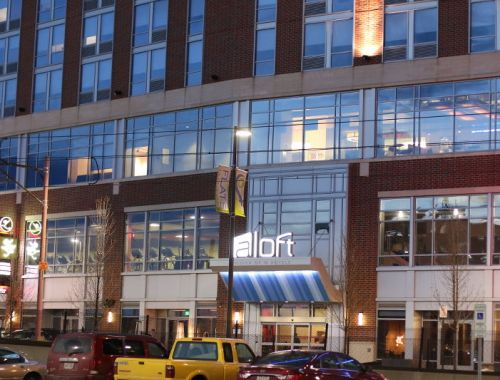 Aloft Cleveland Hotel, ohio, lodging, downtown cleveland