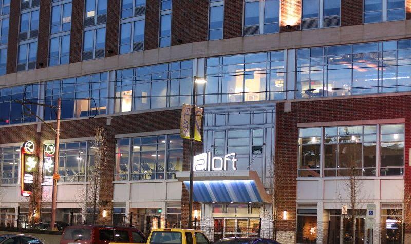 Aloft Cleveland Hotel, ohio, lodging, downtown cleveland