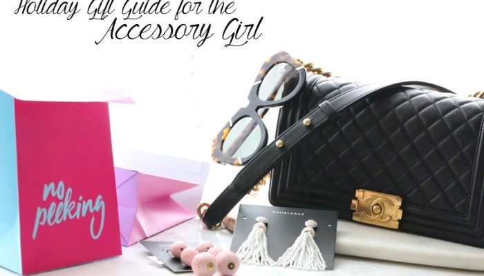 Holiday Gift Guide: Accessory Girl + Giveaway 8