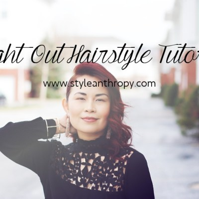 Night Out Hairstyle Tutorial + New Hair Color