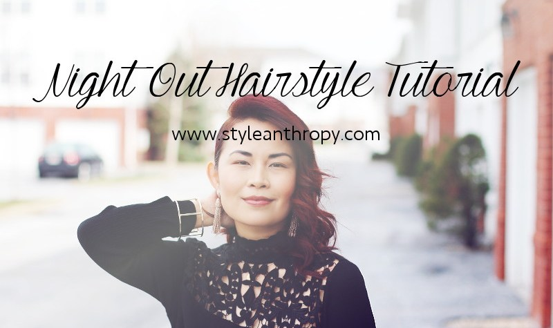 Night Out Hairstyle Tutorial, hair, look, beauty