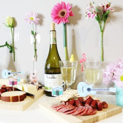 How to Throw a Music Festival Themed Wine Party