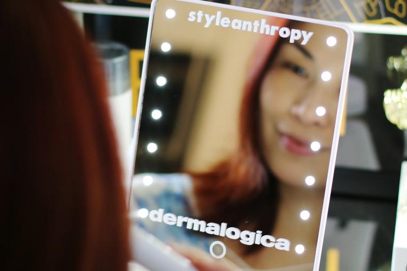 Dermalogica Stress Positive Eye Lift, Styleanthropy, mirror, facial care, face