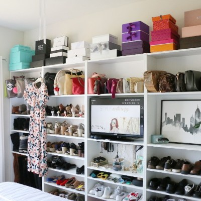 Shoe Closet Transformation: How To Organize Your Shoes