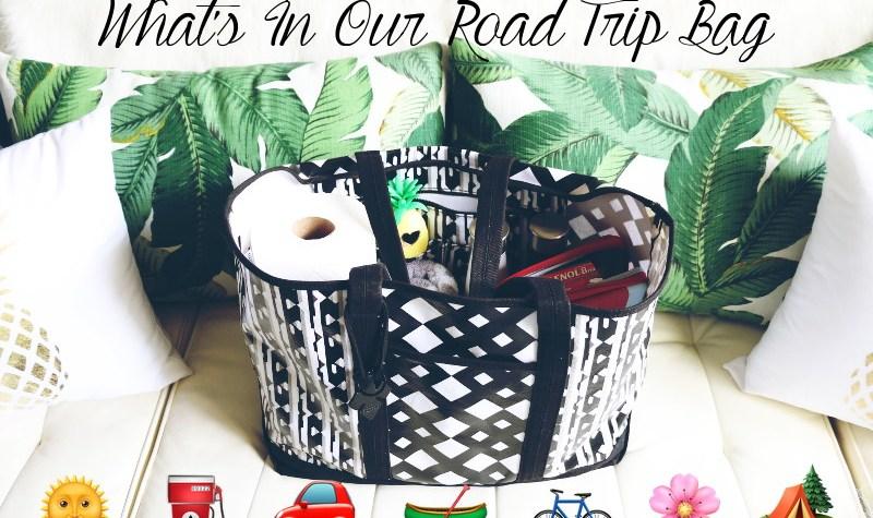 Road Trip Travel Bag, travel tote, travel essentials