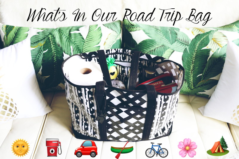 Road Trip Travel Bag, travel tote, travel essentials