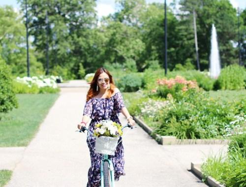 Donna Morgan Floral Off Shoulder Maxi Dress