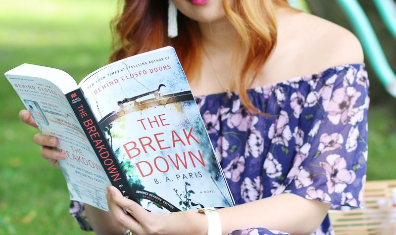The Breakdown, book, thriller, B.A. Paris