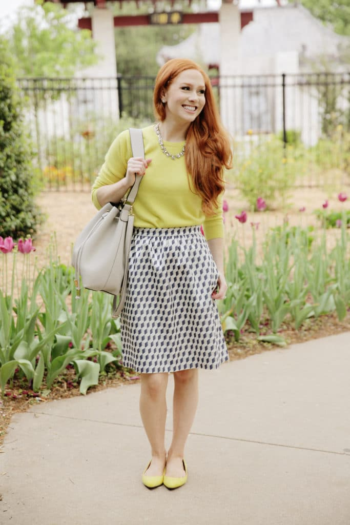 6c424cd5647459 Yellow Sweater + Link Up - Style Assisted