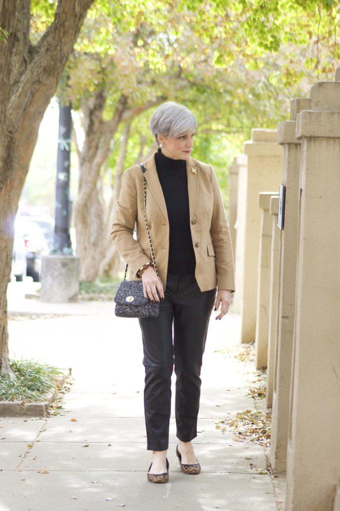 classics, blazers, turtlenecks