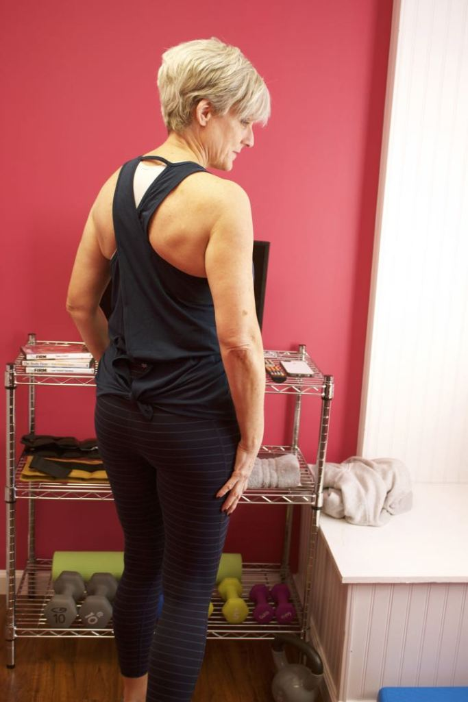 athleta leggings, tank top, sweatshirt