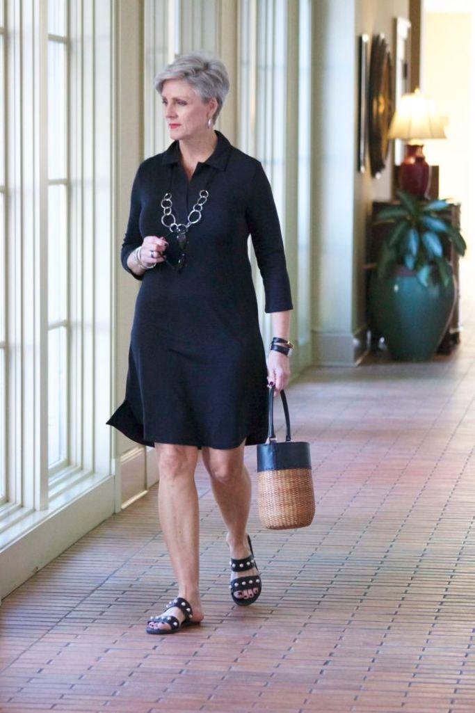 southcott black henley dress