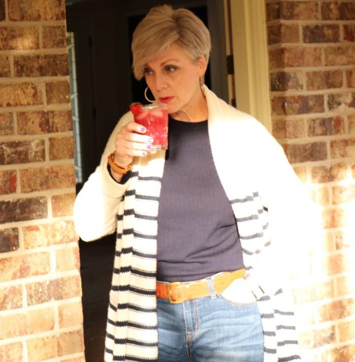 boden sweater, j.crew striped cardigan, j.crew boyfriend jeans, soludos espadrilles, tory burch bracelet