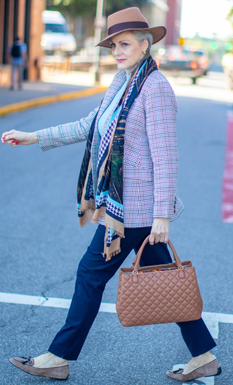first call for fall with Talbots
