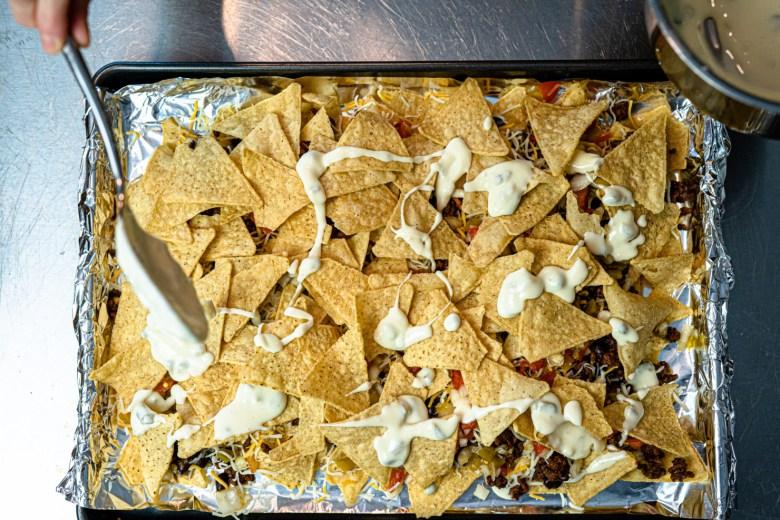 nachos and camo