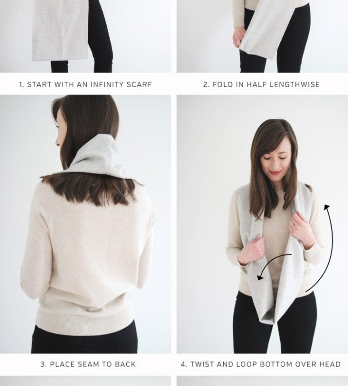 Style Bee - 5 SCARF TUTORIAL