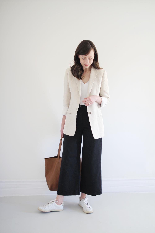 Style Bee - 1 Item - 3 Ways - White Sneakers