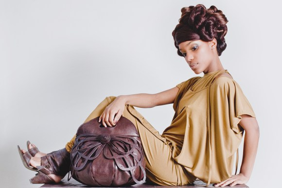 COLLECTION: Chocolate, 2009; Photography Michael Danker; Hair and Make up Saskia Wagenvoort; Model Shantinella Mariano