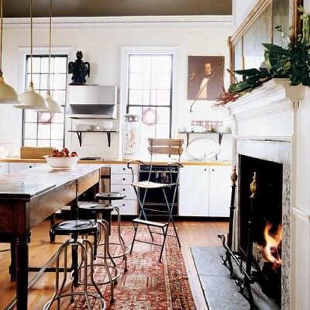 southernaccents art kitchen Winter Decor