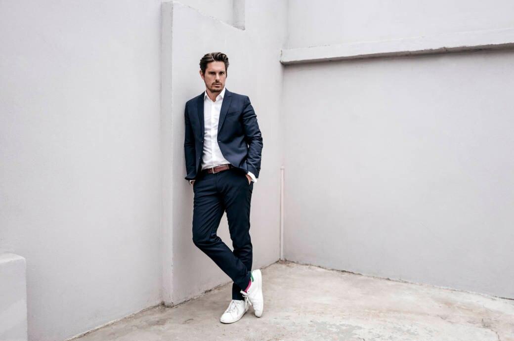 5 Mal Sneaker Und Anzug Asos