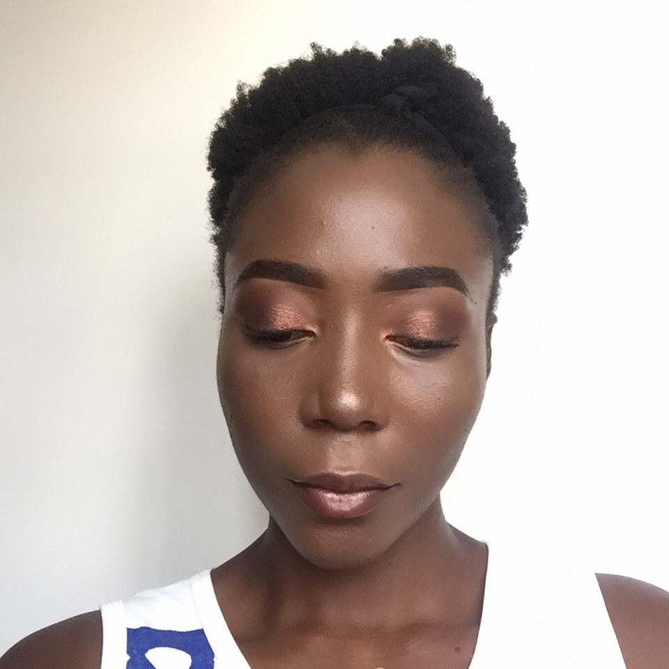 Eyeshadow look using Iconic Fever palette.