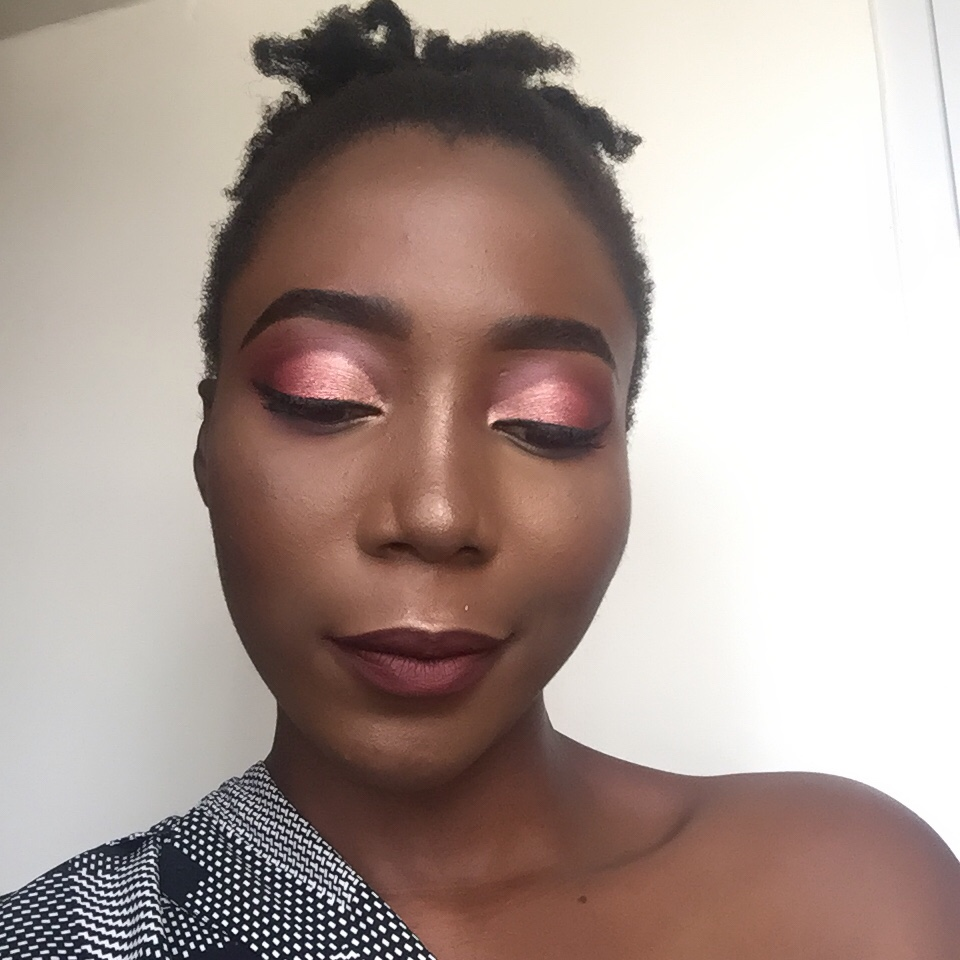 Cut crease eyeshadow using Iconic Newtrals 2 palette