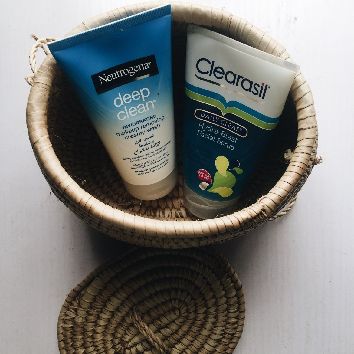 Clearasil and Neutrogena Skincare products