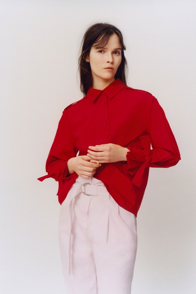 Pink and Red Maje SS2018