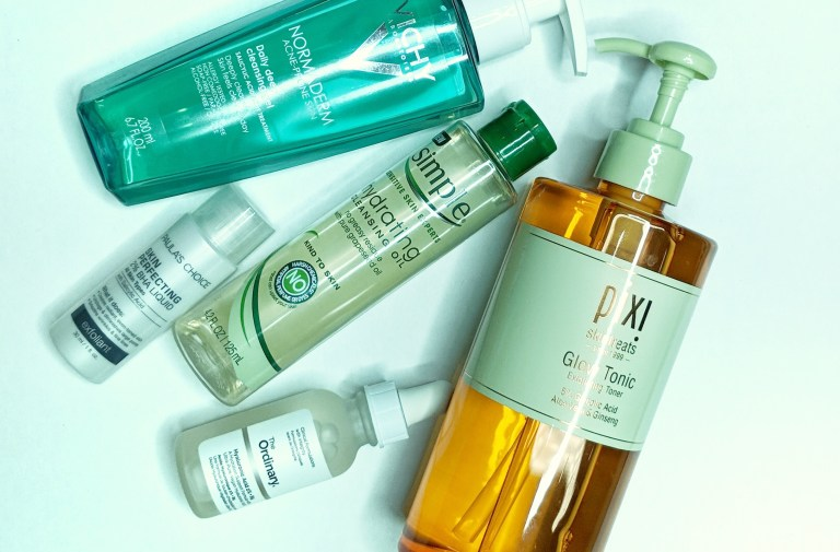 Beauty Frenzy Blog TOP 5 Skincare Products