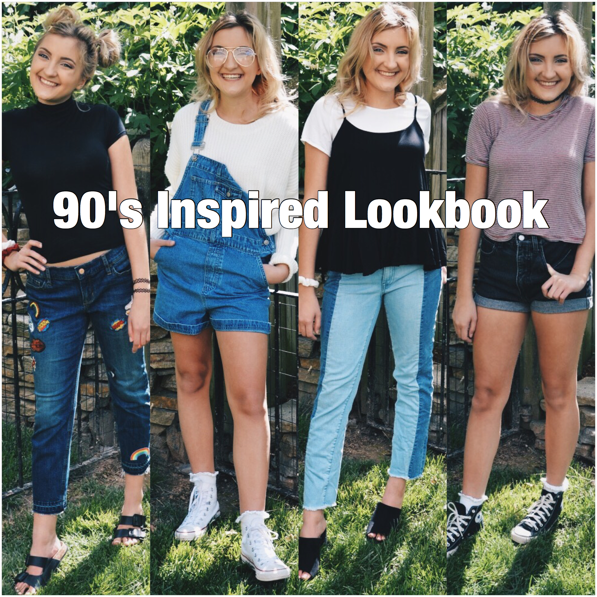 90s Inspired Lookbook / Outfit Ideas \u2013 Styled by McKenz