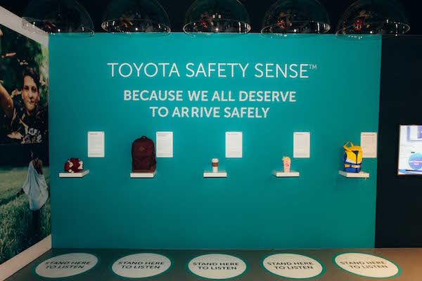 Toyota's interactive pop-up