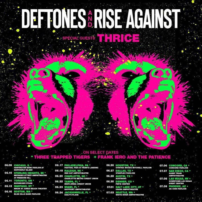 Deftones-Rise Against
