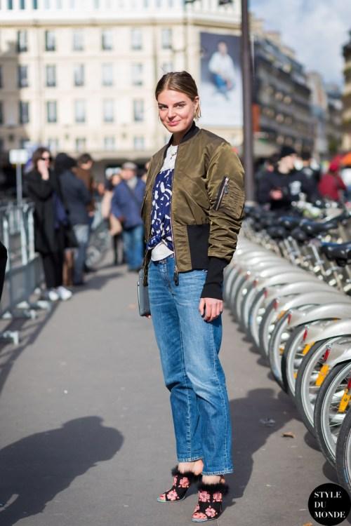 Claire Beermann Street Style Street Fashion Streetsnaps by STYLEDUMONDE Street Style Fashion Blog