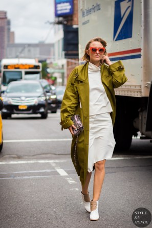 Rebecca Laurey Street Style Street Fashion Streetsnaps by STYLEDUMONDE Street Style Fashion Photography