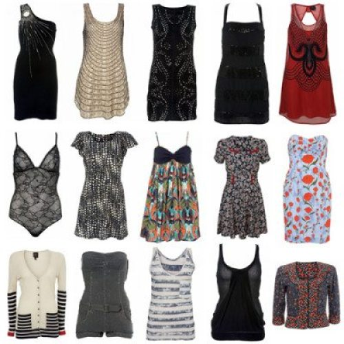 A few pieces from Kate Moss' previous Topshop collaboration.